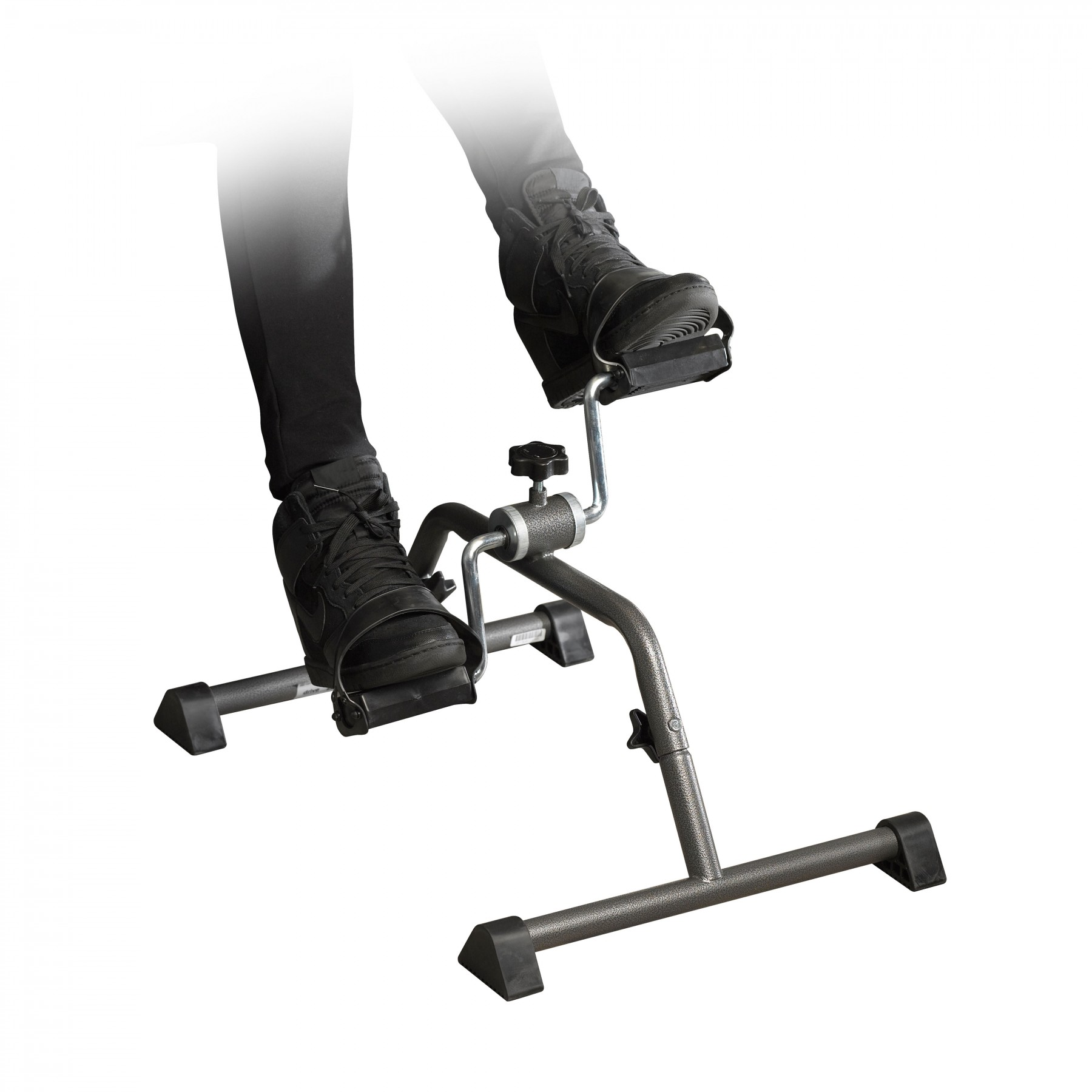 Drive Medical Exercise Peddler With Attractive Silver Vein