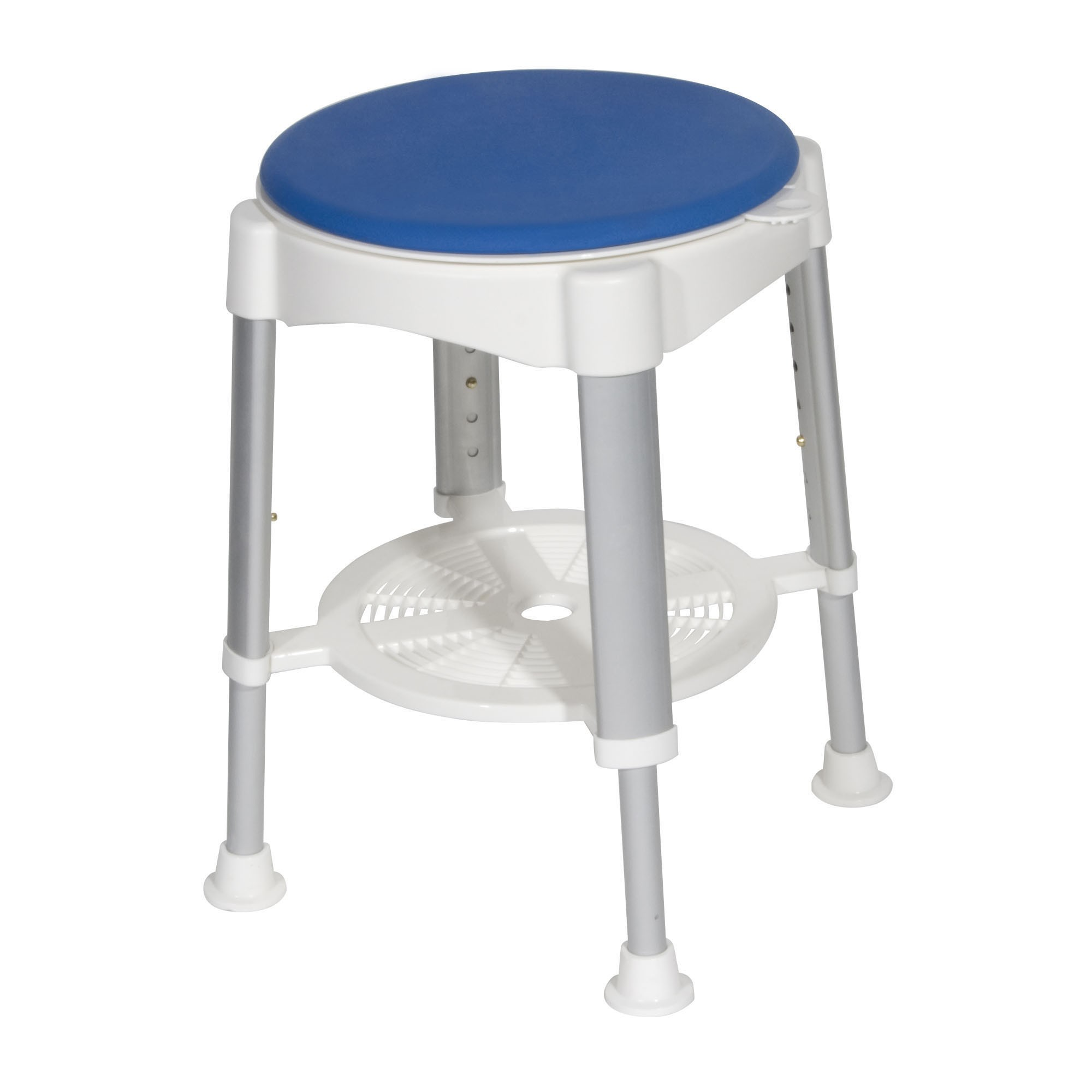 Drive Medical Bath Stool with Padded Rotating Seat