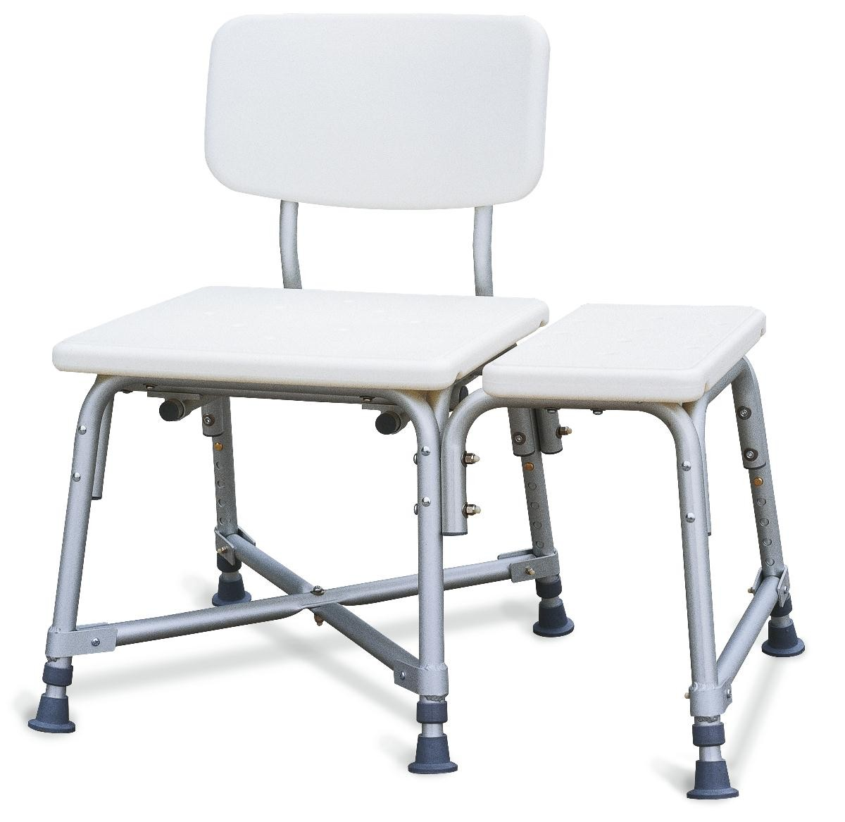 Medline Non-Padded Bariatric Transfer Bench - Benches and Stools ...