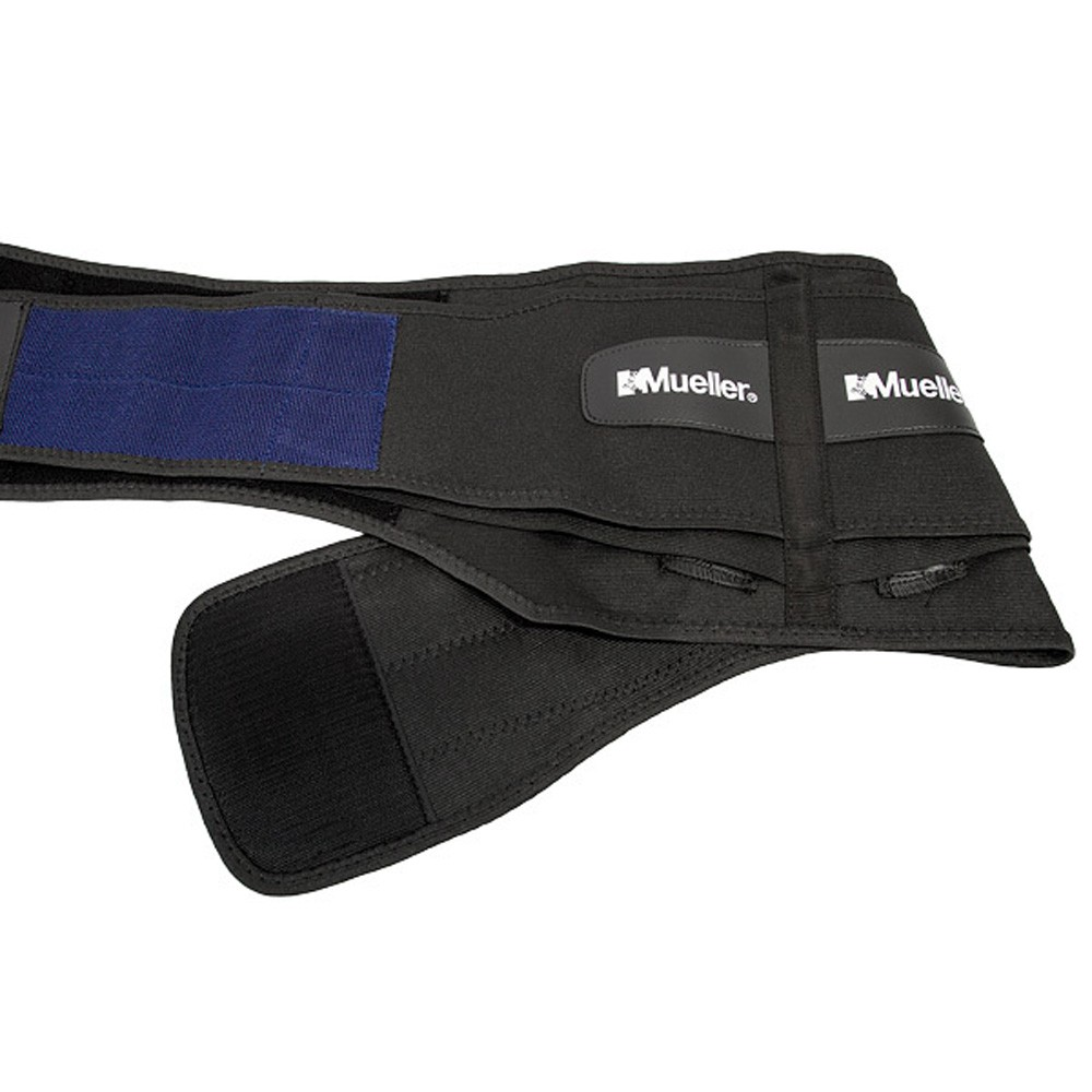 Mueller Adjustable Back Brace with Lumbar Pad - Regular Size