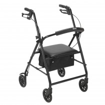 """Drive Medical Rollator with 6"""" Wheels"""