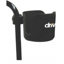 "Drive Medical Universal Cup Holder, 3"" Wide"
