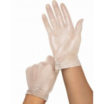 Medline Clear-Touch Vinyl Multi-Purpose Gloves - CA Only