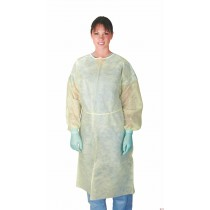 Medline Classic Cover Lightweight Polypropylene Isolation Gowns