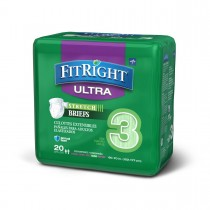 Medline FitRight Stretch Ultra Brief