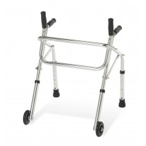 Medline Pediatric Non-Folding Walker,3""