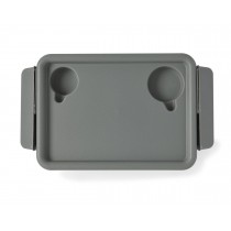 Medline Walker Flip Tray,Gray