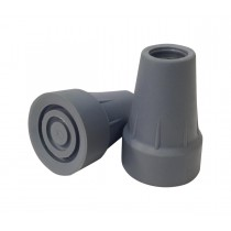 Medline Extra Large Crutch Replacement Tips,Gray