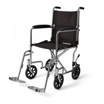 Medline Steel Transport Chair 19""