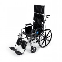 Medline Reclining Wheelchairs - 18 x 17""