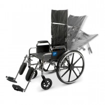 Medline Reclining Wheelchairs - 22 x 17""