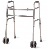 Medline Bariatric Folding Walkers,5""