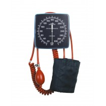 Medline Non-Latex Wall Mount Aneroid Blood Pressure Monitor,Adult