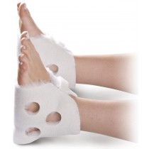 Medline Ventilated Heel Protectors,White,Unisize