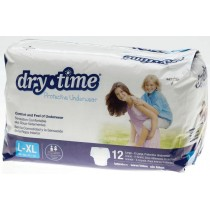 Medline DryTime Disposable Protective Youth Underwear
