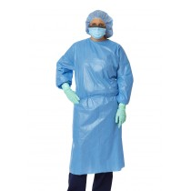 Medline Closed Back Coated Polypropylene Isolation Gowns