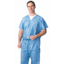 Medline Disposable Scrub Shirts