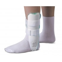 Medline Air and Foam Stirrup  Ankle Splints,White,Universal