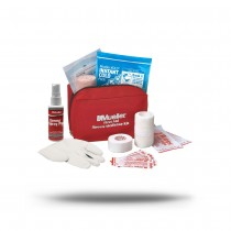 Mueller First Aid Sports Medicine Kit - Red