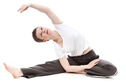 Woman in Yoga Pose Thumbnail