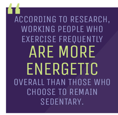 energy levels exercise quote